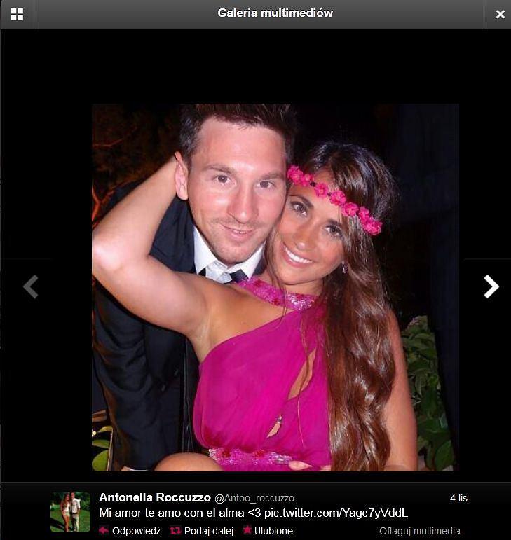 Lionel Messi And Antonella Roccuzzo 2012 The gallery for -->...