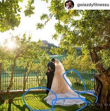 Zdjęcie ze ślubu Dody
