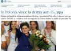 """Wybory 2015. W�oska prasa: """"Zwyci�stwo antyunijnych nacjonalist�w"""", """"wyborcy oddali g�os religijny"""""""