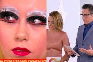 Makijaż sylwestrowy z 'Pytania na śniadanie', Anna Kalczyńska i Andrzej Sołtysik