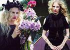 """Magda Roman jako czarna wdowa - gotyckie oblicze uciekinierki z """"Top Model"""""""