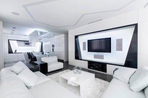Wn�trza: futurystyczny apartament w Moskwie