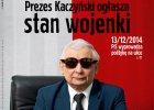 """Mocna ok�adka """"Polityki"""". Kaczy�ski jak Jaruzelski og�asza """"stan wojenki"""""""