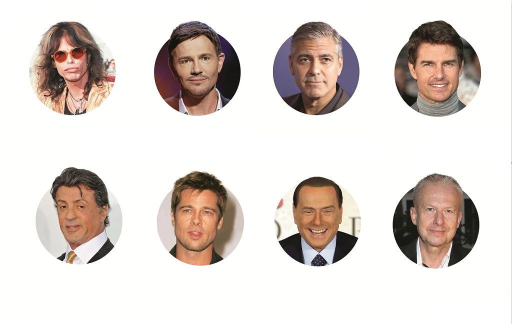 Od korekt własnego wyglądu nie stronią celebryci.
