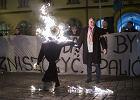 Terlikowski, Semka, Zaremba i inni konserwaty�ci: Palenie kuk�y �yda kojarzy si� z rasistowskimi zbrodniami