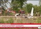 Katastrofa samolotu ze skoczkami spadochronowymi koło Częstochowy. 11 osób nie żyje