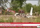 Katastrofa samolotu ze skoczkami spadochronowymi ko�o Cz�stochowy. 11 os�b nie �yje