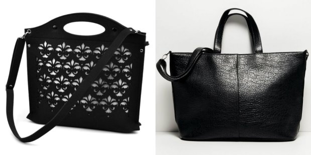 2df01294582ca Czarne torebki na jesień do 100 zł - ponad 50 propozycji