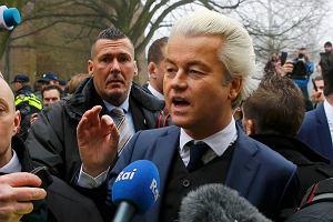 Rasistowskie hasła i wyzwiska. Tak lider sondaży w Holandii zaczął kampanię wyborczą
