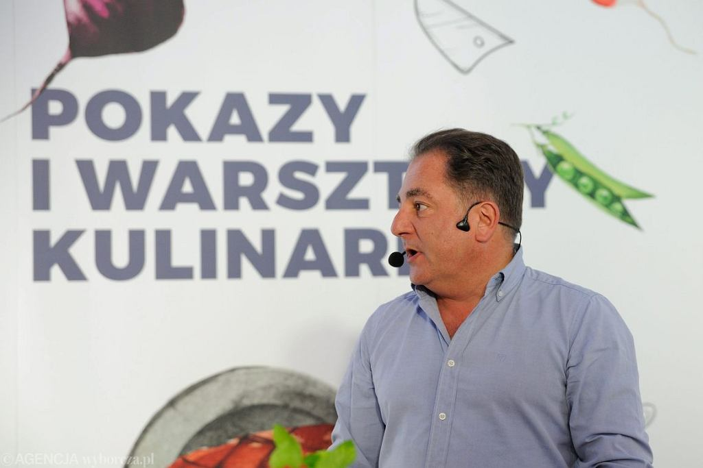 Robert Makłowicz (Fot . Tomasz Pietrzyk / Agencja Gazeta)