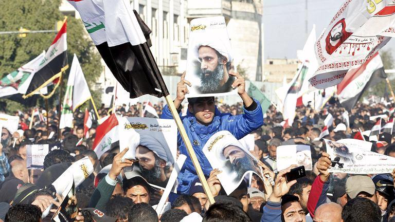 Szyici protestują przeciwko egzekucji Nimr al-Nimra