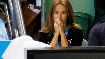 Ogromne nerwy w finale Australian Open. Mina narzeczonej Murraya m�wi wszystko. Ju� remis!