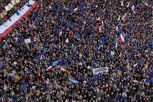 Marsz Kocham Cię, Europo!. Rodzinne zdjęcie Europejczyków w Warszawie