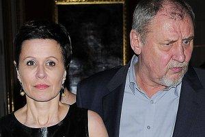 Andrzej Grabowski z żoną Anitą