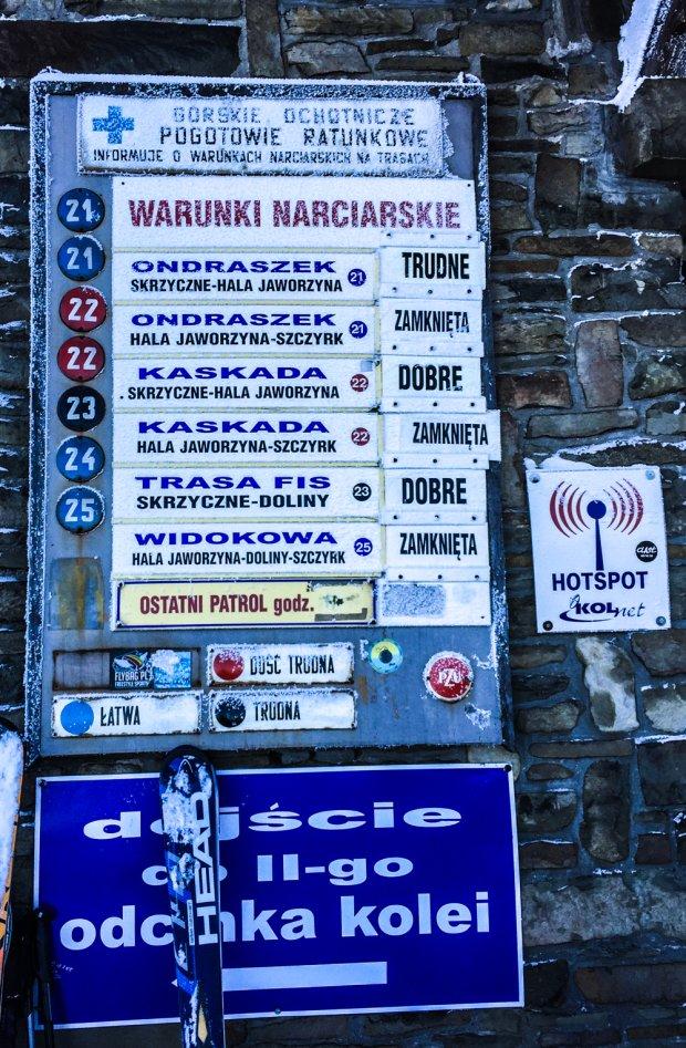 Zdjęcie numer 0 w galerii - Polskie stoki. Skrzyczne - Szczyrk [ZDJĘCIA]