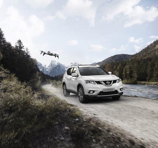 Nissan X-Trail | Z dronem w pakiecie