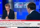 Rozmowa z rosyjskim ministrem kultury Władimirem Medinskim na antenie TVP