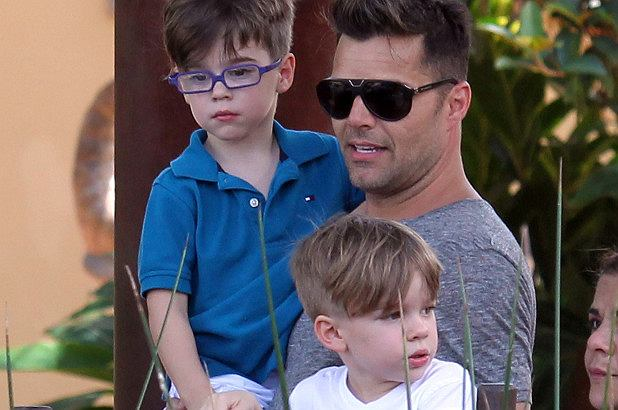 Ricky Martin jest dumnym ojcem synów bliźniaków. Matteo i Valentino mają już 8 lat.