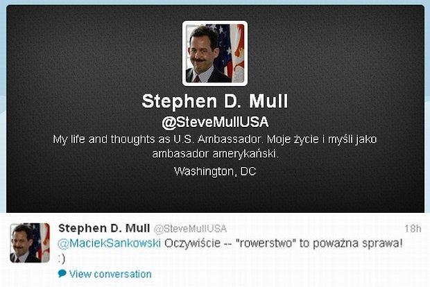 Twitter Stephena D. Mulla