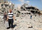 """Izraelska armia zako�czy�a niszczenie tuneli w Strefie Gazy. """"Wycofujemy wojska"""""""
