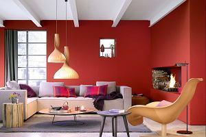 Kolor czerwony we wnętrzach