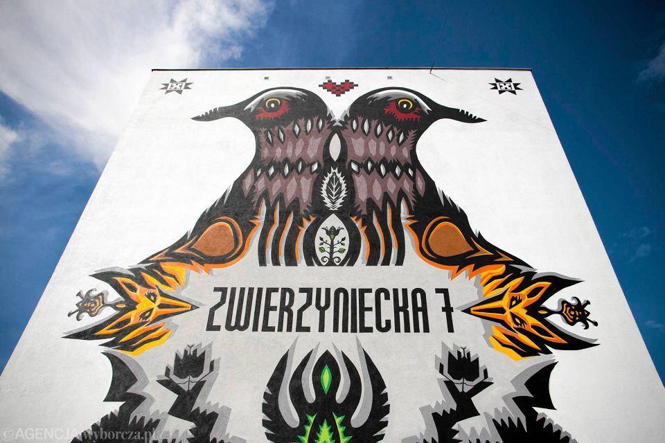 Najpi kniejsze murale s w bia ymstoku zwyci stwo w for Mural warszawa 44