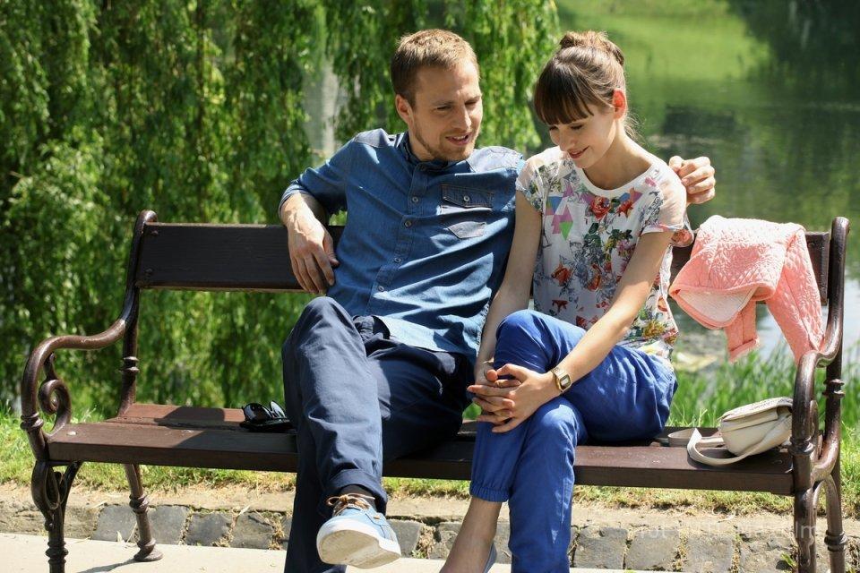 Wojtek (Mateusz Janicki), Janka (Joanna Osyda), M jak miłość