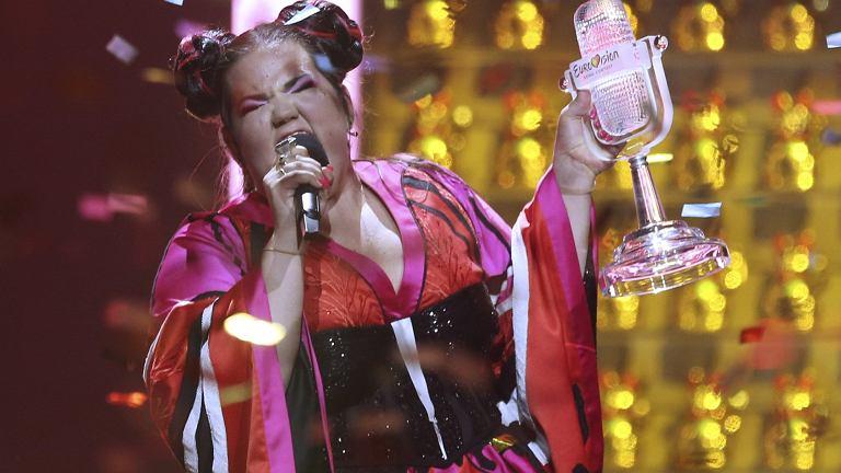 Netta, reprezentująca Izrael zwyciężczyni tegorocznego konkursu Eurowizji.