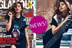 """Pi�kna Eva Mendes zdradza sekrety swojej sylwetki i urody we francuskim """"Glamour"""" [ZDJ�CIA + WYWIAD]"""