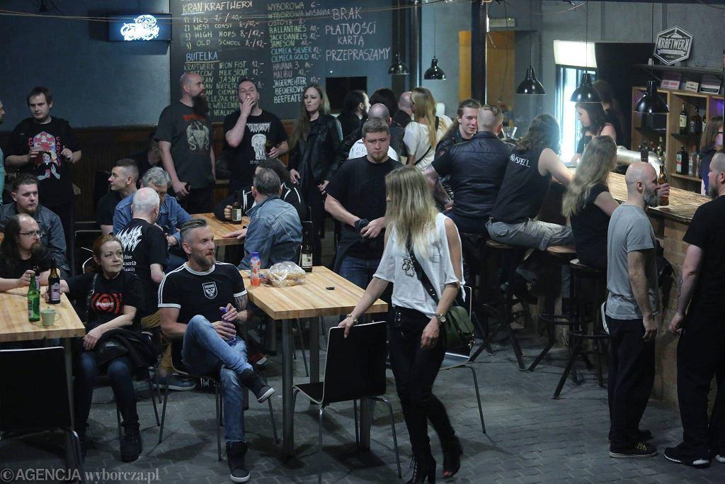 Magnetofon, klub muzyczny w Łodzi przy ul.Zgierskiej / MARCIN WOJCIECHOWSKI