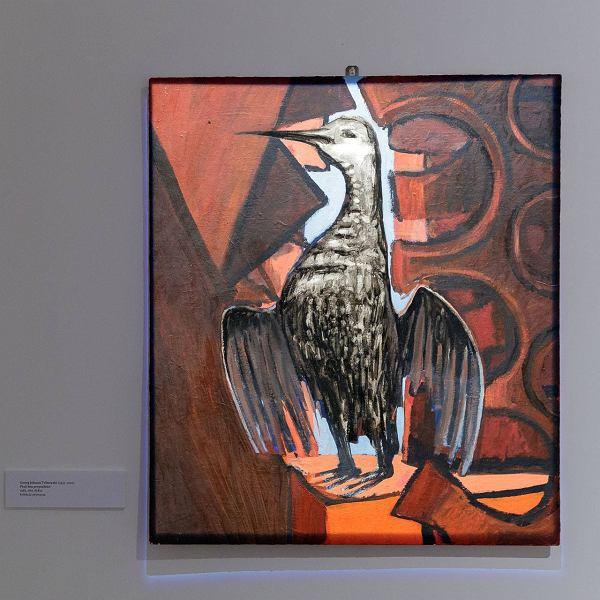 Ptak bez przestrzeni. Georg Johann Tribowski - Wczesne obrazy