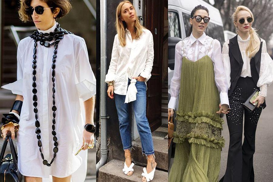 d4530c98f5 Biała koszula inaczej - jak urozmaicić klasyczne ubranie