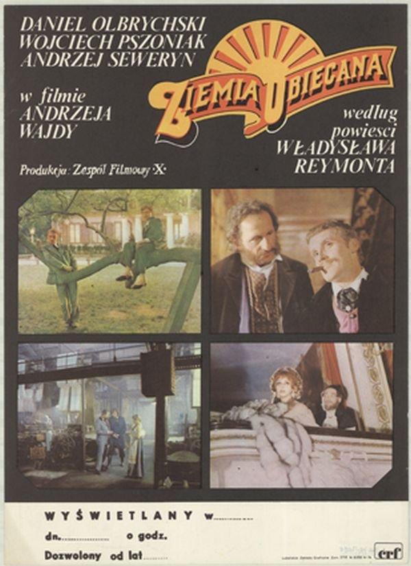 """Képtalálat a következőre: """"Ziemia obiecana plakát"""""""