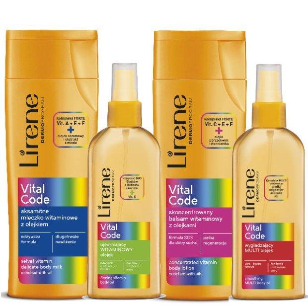 Lirene Vital Code - kod pi�knej, zdrowej i promiennej sk�ry