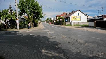 Kielce, skrzyżowanie ulic Malików i Piekoszowskiej