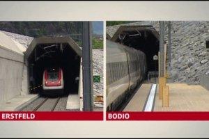 W Szwajcarii otwarto najdłuższy tunel kolejowy na świecie