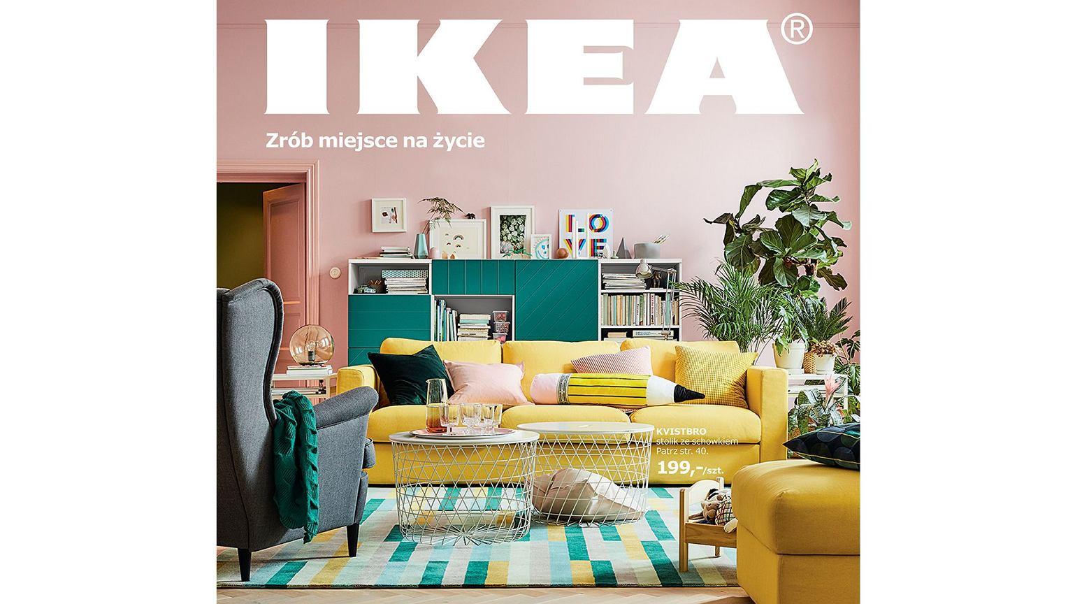 ycie to zmiany zr b na nie miejsce nowy katalog ikea. Black Bedroom Furniture Sets. Home Design Ideas