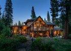 Dom za miastem pe�en drewna