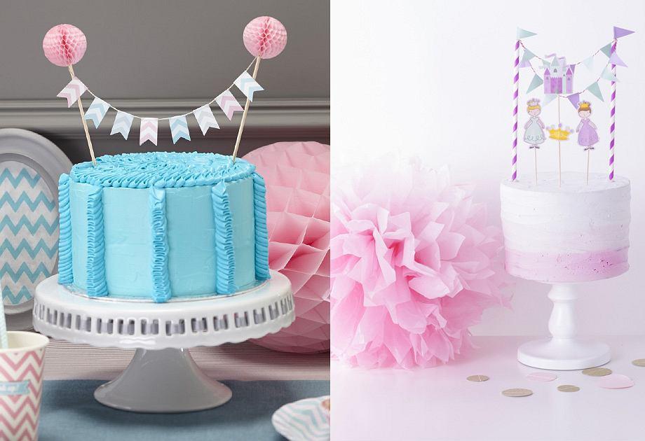 Pikery i figurki na tort