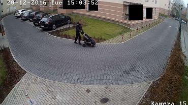 Kradzież wózka na Grunwaldzie
