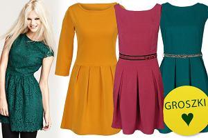 443b49d620 Sukienki z rozkloszowanym dołem - ponad 80 propozycji