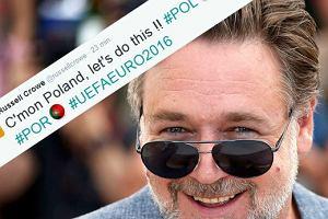 """Tak Russell Crowe zagrzewa� Polak�w - po polsku: """"Do Boju!! DO BOJU!!!"""" [TWEETY]"""