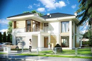 Top 10 gotowych projekt�w dom�w