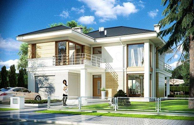 Top 10 gotowych projektów domów
