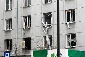 """""""Mężczyzna z przerażenia chciał wyskoczyć przez okno"""". Po potężnym wybuchu w Śródmieściu"""
