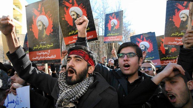 Demonstracja antysaudyjska po egzekucji duchownego al-Nimra