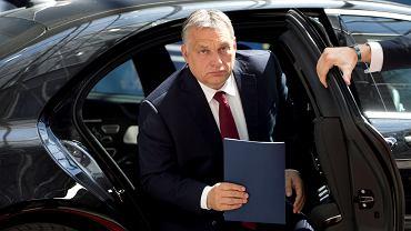 Viktor Orban w Brukseli na czerwcowym szczycie unijnym zwołanym w związku z kryzysem migracyjnym