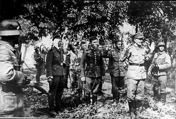 Kapitulacja polskiej załogi