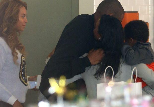 Beyonce i Jay Z na urodzinach Blue Ivy