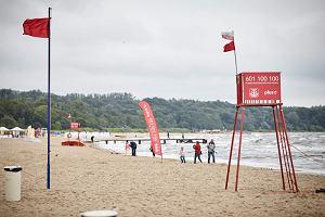 36-letni mężczyzna utonął w Bałtyku. Nieoficjalnie: był zakaz kąpieli